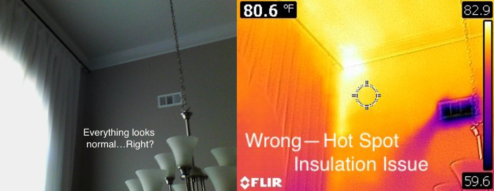 Thermal Imaging Toccoa Home Inspectors